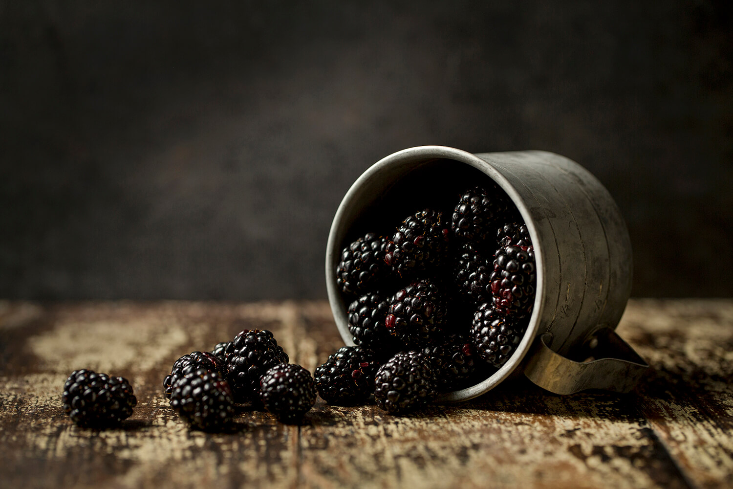 Dark Food Blackberries10